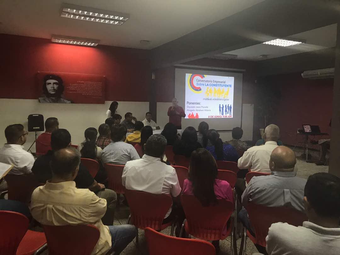 Diputado Jesús Montilla se reunió con sector empresarial para debatir sobre la ANC