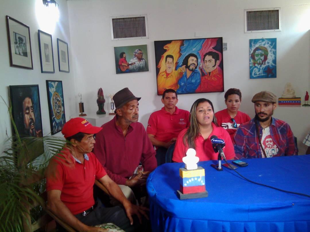 Eliana Zavarce candidata ANC por VIT sostiene encuentro con trabajadores del sector industria