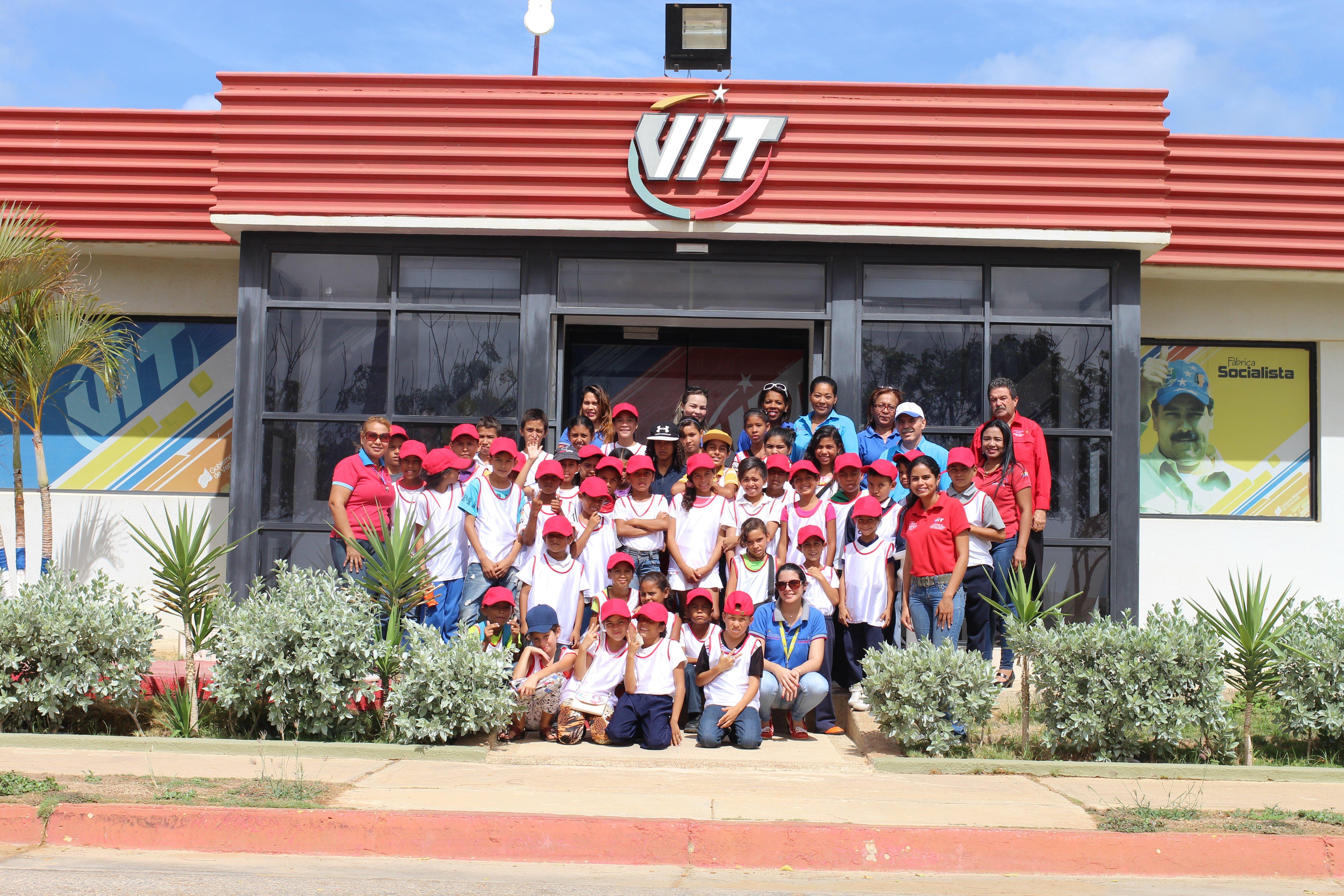 Niños de la Casa de Atención Integral Milixsa Aldama de Goitía y Zonfipca visitaron VIT