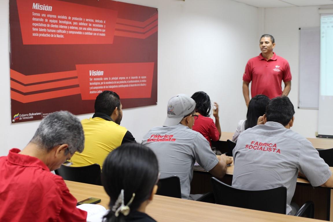 Trabajadores de VIT inician debate sobre el Plan de la Patria 2019 – 2025