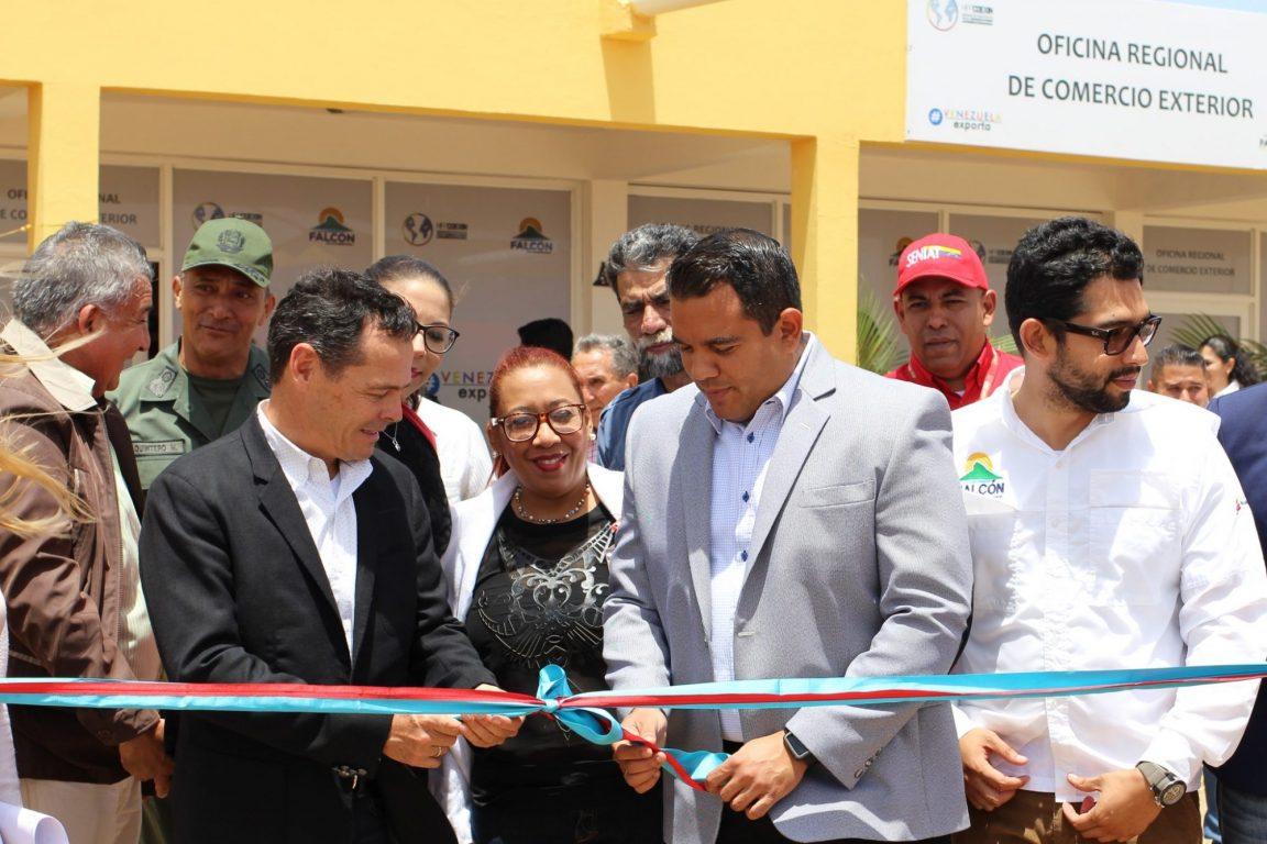 Inaugurada primera Oficina Regional de Comercio Exterior en Zona Franca de Paraguaná